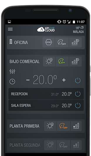 Movil Airzone Cloud